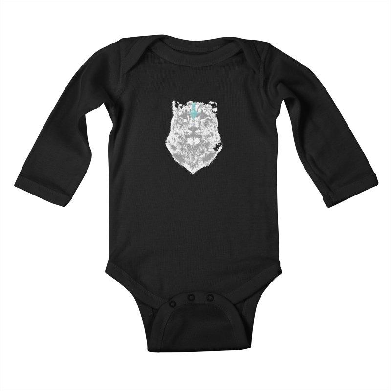 tiger the last air bender Kids Baby Longsleeve Bodysuit by kumpast's Artist Shop