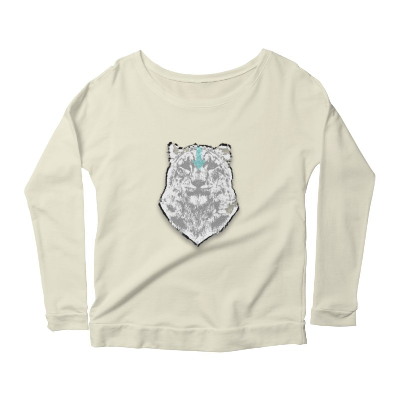 tiger the last air bender Women's Longsleeve Scoopneck  by kumpast's Artist Shop