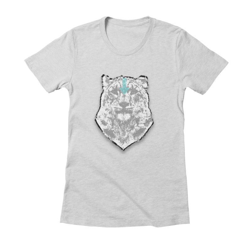 tiger the last air bender Women's Fitted T-Shirt by kumpast's Artist Shop