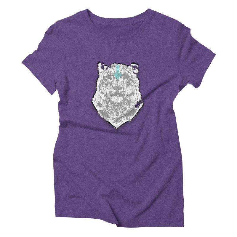 tiger the last air bender Women's Triblend T-Shirt by kumpast's Artist Shop