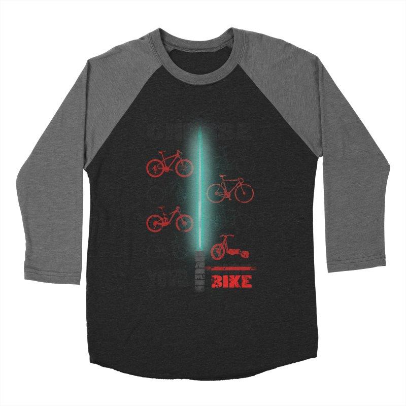 choose your bike Men's Baseball Triblend T-Shirt by kumpast's Artist Shop