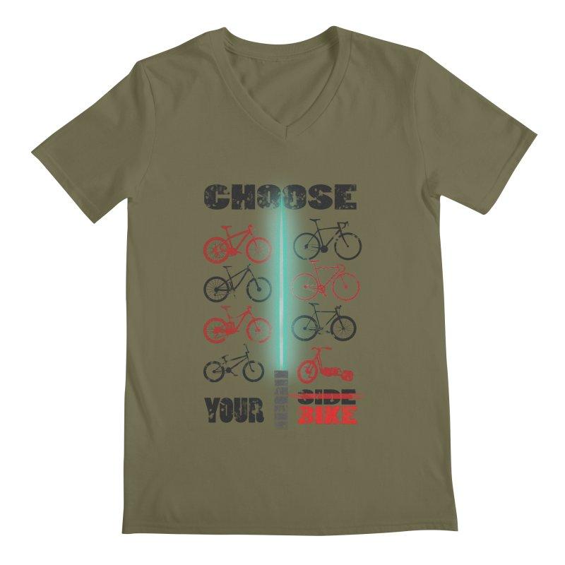 choose your bike Men's V-Neck by kumpast's Artist Shop
