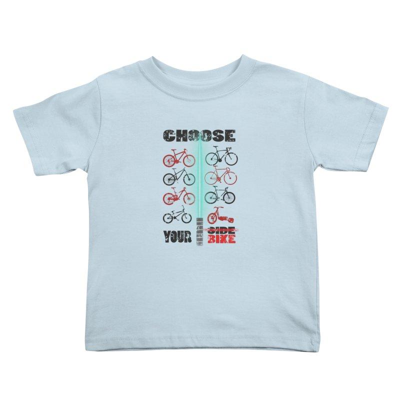 choose your bike Kids Toddler T-Shirt by kumpast's Artist Shop