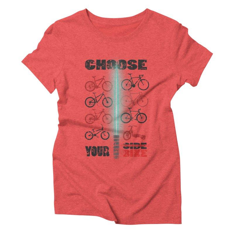 choose your bike Women's Triblend T-Shirt by kumpast's Artist Shop