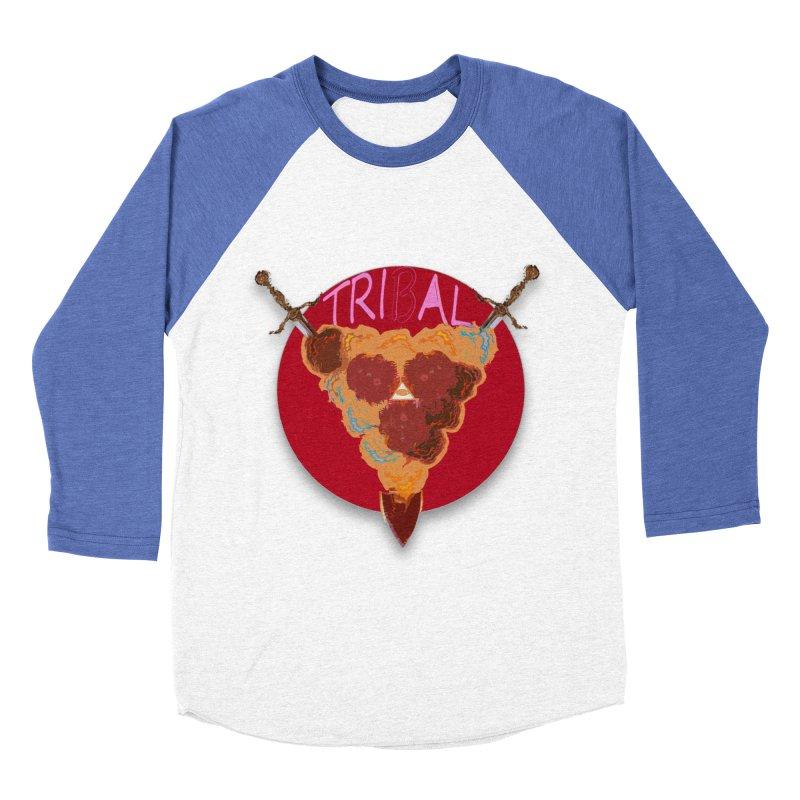 tribal got Women's Baseball Triblend T-Shirt by kumpast's Artist Shop