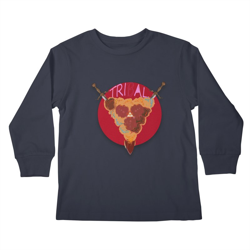 tribal got Kids Longsleeve T-Shirt by kumpast's Artist Shop