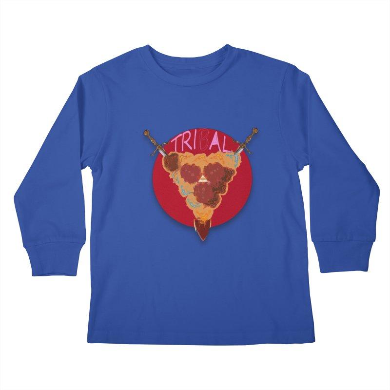 tribal got Kids Longsleeve T-Shirt by kumpast's Artist Shop