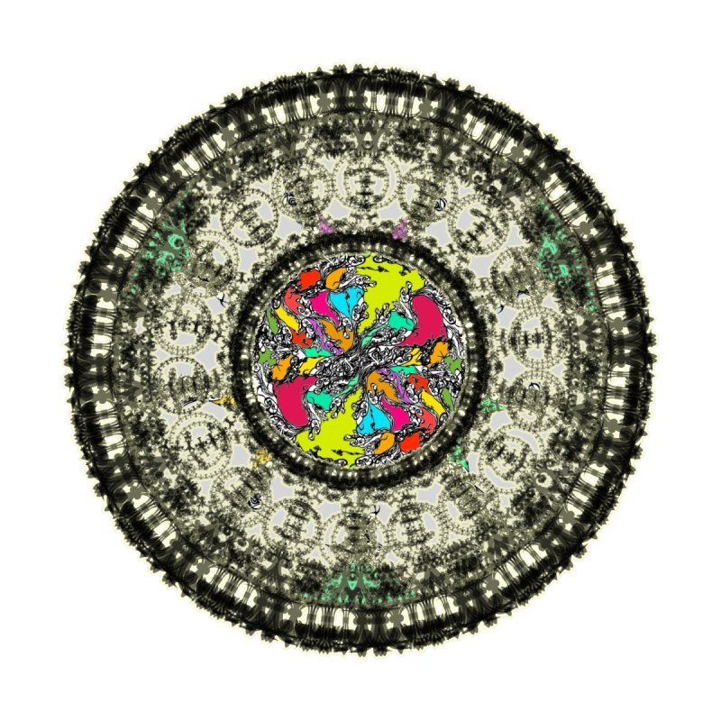 the mandala around by kumpast's Artist Shop