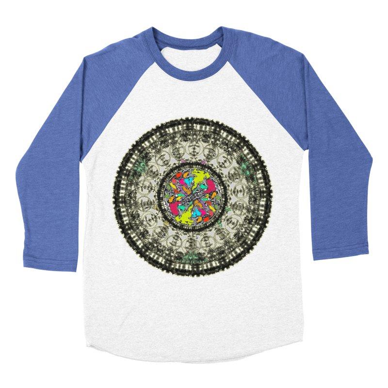 the mandala around Women's Baseball Triblend T-Shirt by kumpast's Artist Shop