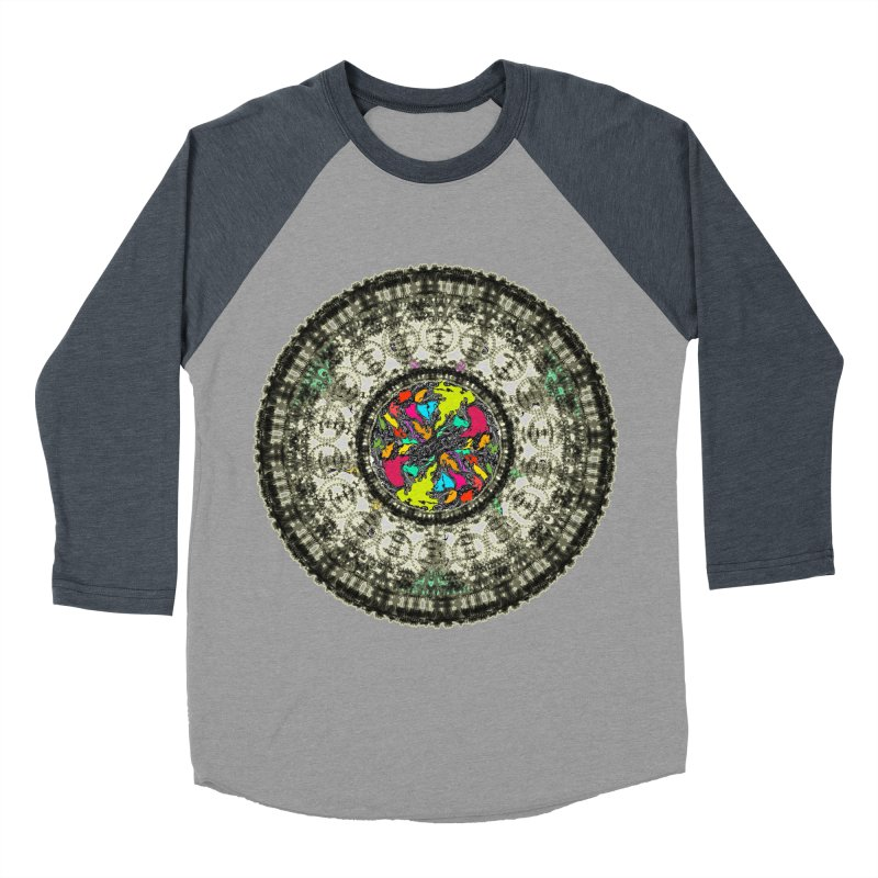 the mandala around Women's Baseball Triblend T-Shirt by kumpast's Artist Shop