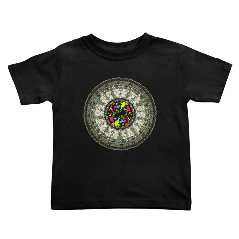 the mandala around Kids Toddler T-Shirt by kumpast's Artist Shop
