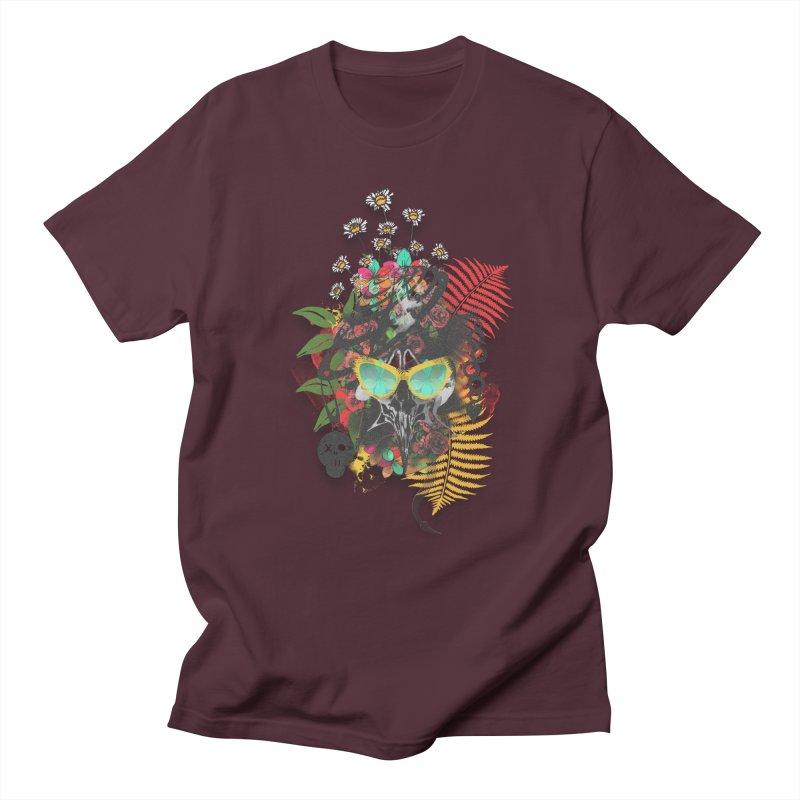 skull spring before summer Men's T-shirt by kumpast's Artist Shop