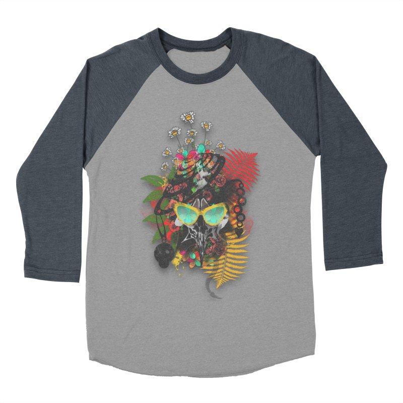skull spring before summer Women's Baseball Triblend T-Shirt by kumpast's Artist Shop