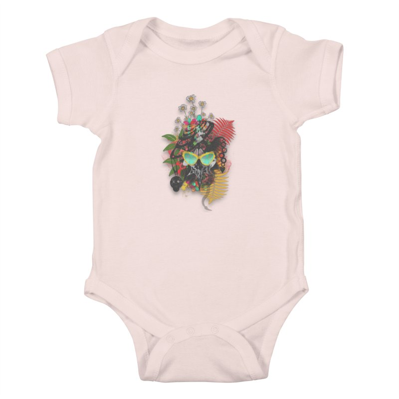 skull spring before summer Kids Baby Bodysuit by kumpast's Artist Shop