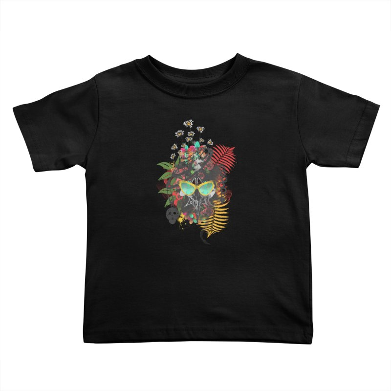 skull spring before summer Kids Toddler T-Shirt by kumpast's Artist Shop