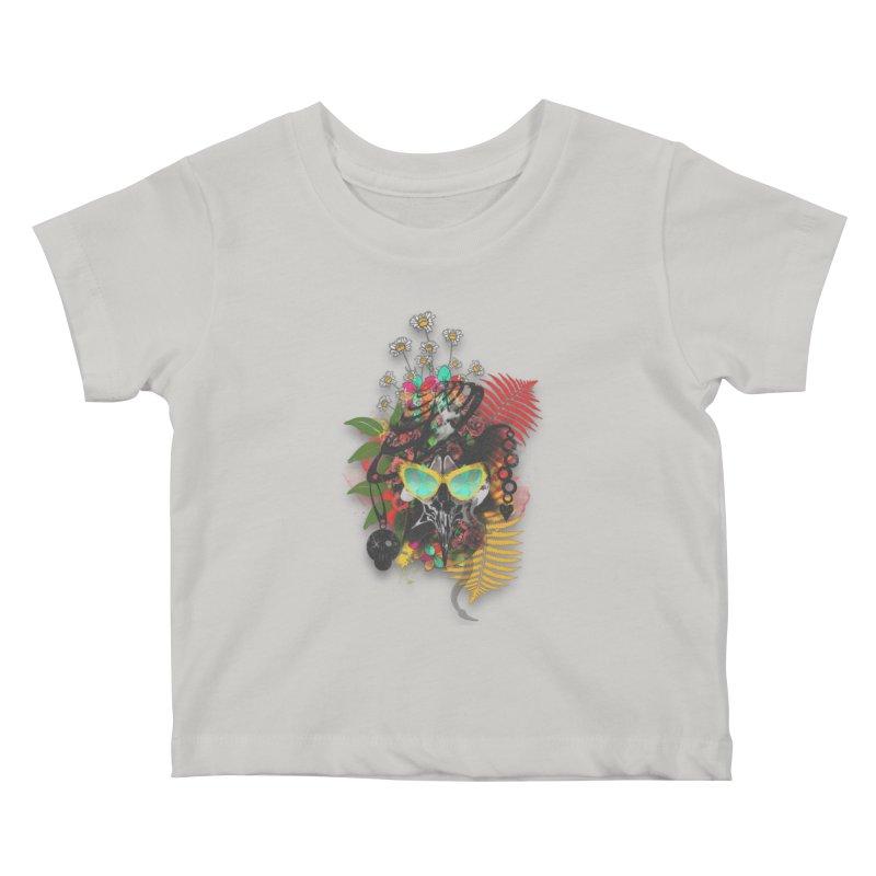 skull spring before summer Kids Baby T-Shirt by kumpast's Artist Shop