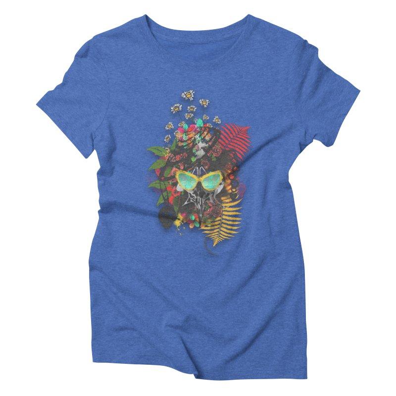 skull spring before summer Women's Triblend T-Shirt by kumpast's Artist Shop