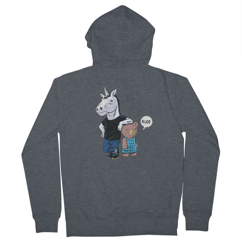 Sally and Hank Women's Zip-Up Hoody by The Kurdles' T-shirt Shop