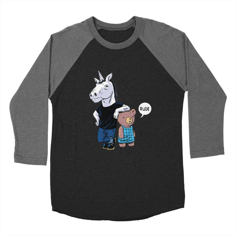 Sally and Hank Women's Baseball Triblend T-Shirt by The Kurdles' T-shirt Shop
