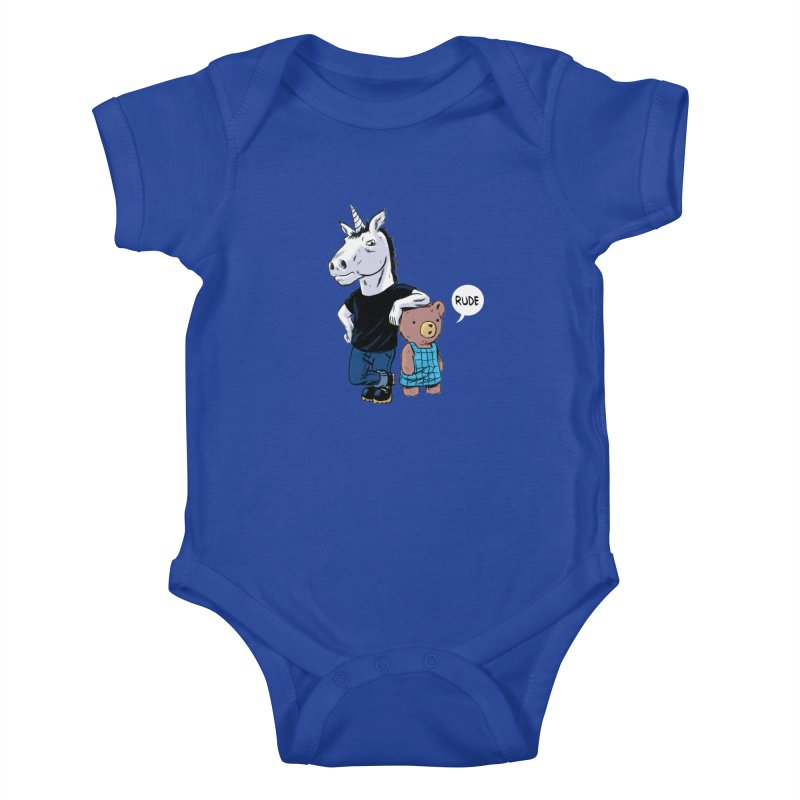 Sally and Hank Kids Baby Bodysuit by The Kurdles' T-shirt Shop