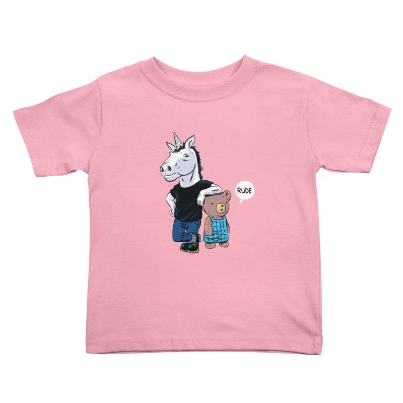 Sally and Hank Kids Toddler T-Shirt by The Kurdles' T-shirt Shop