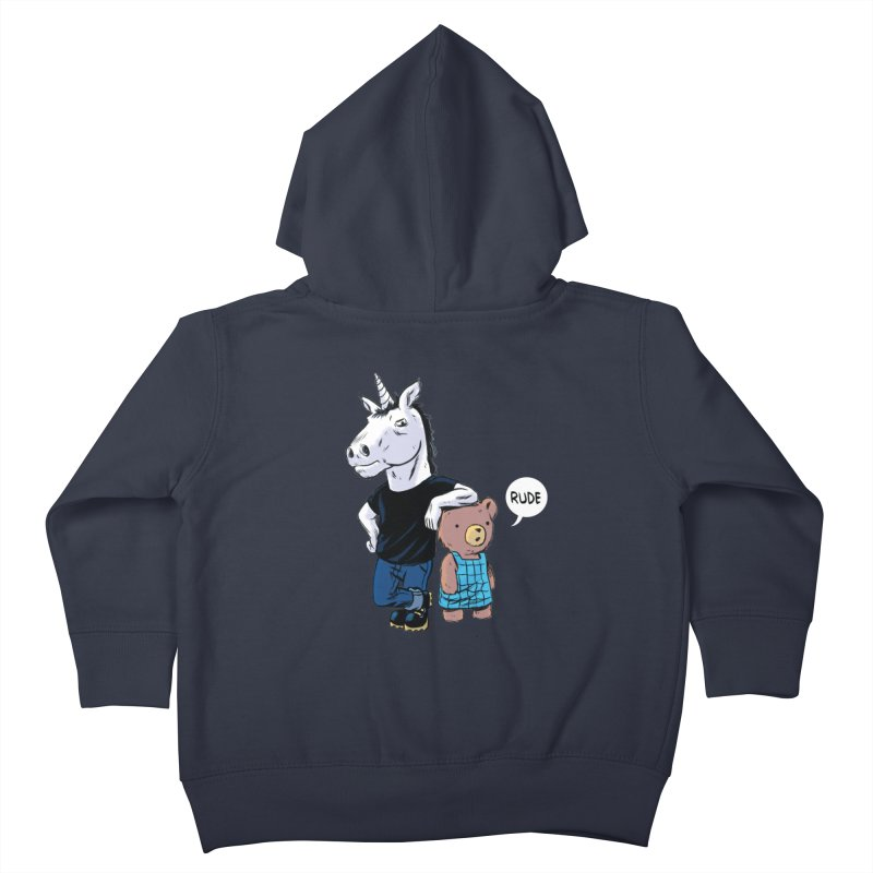 Sally and Hank Kids Toddler Zip-Up Hoody by The Kurdles' T-shirt Shop
