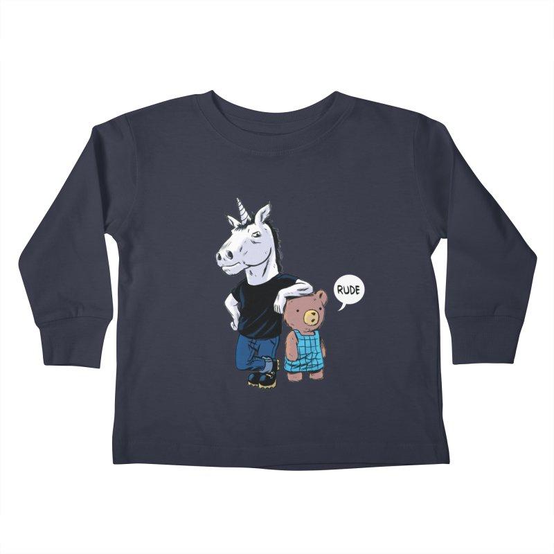Sally and Hank Kids Toddler Longsleeve T-Shirt by The Kurdles' T-shirt Shop
