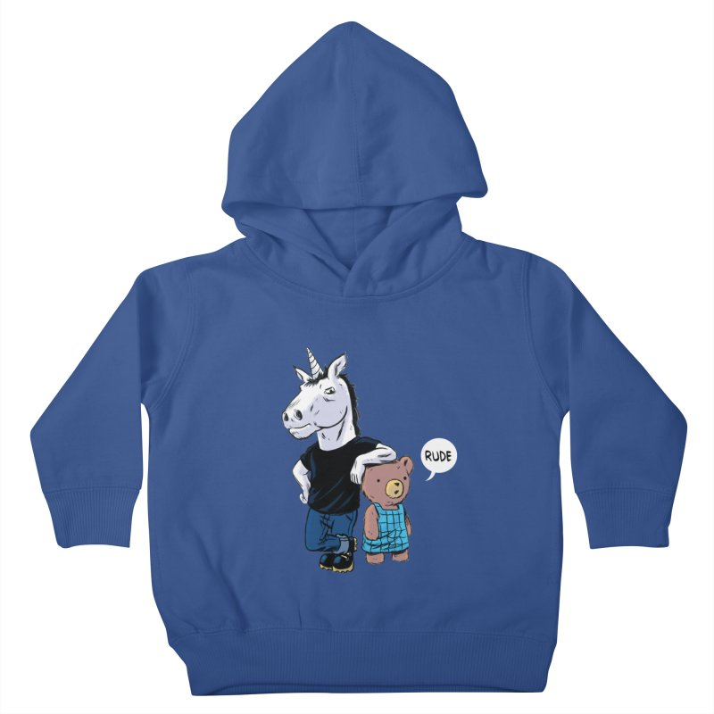 Sally and Hank Kids Toddler Pullover Hoody by The Kurdles' T-shirt Shop