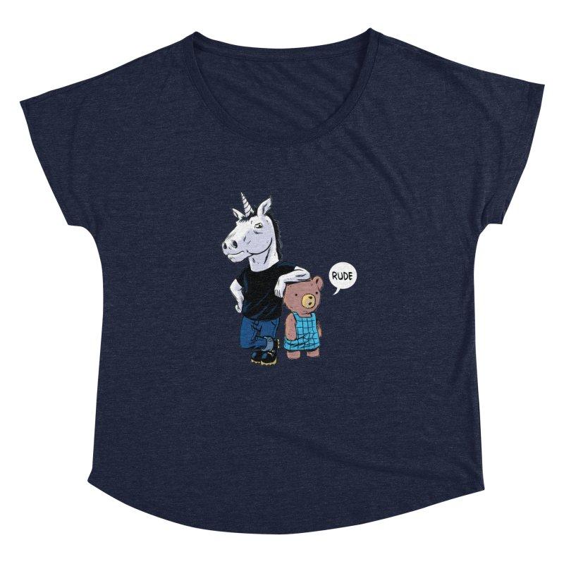Sally and Hank Women's Dolman by The Kurdles' T-shirt Shop