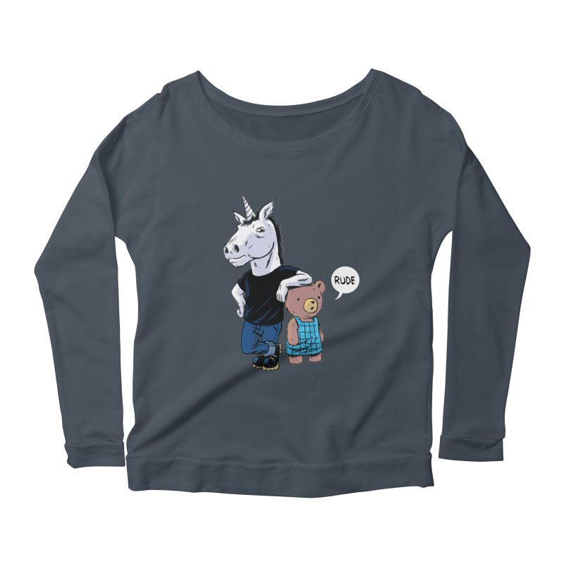 Sally and Hank Women's Longsleeve Scoopneck  by The Kurdles' T-shirt Shop