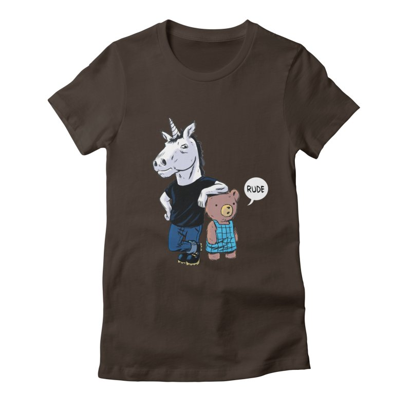 Sally and Hank Women's Fitted T-Shirt by The Kurdles' T-shirt Shop