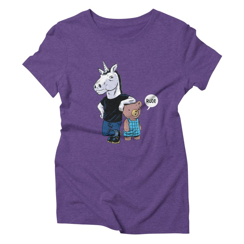Sally and Hank Women's Triblend T-Shirt by The Kurdles' T-shirt Shop
