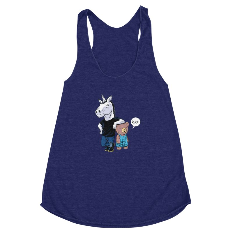Sally and Hank Women's Racerback Triblend Tank by The Kurdles' T-shirt Shop