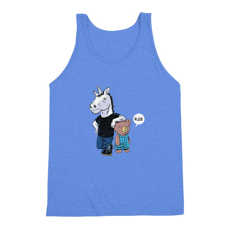 Sally and Hank Men's Triblend Tank by The Kurdles' T-shirt Shop