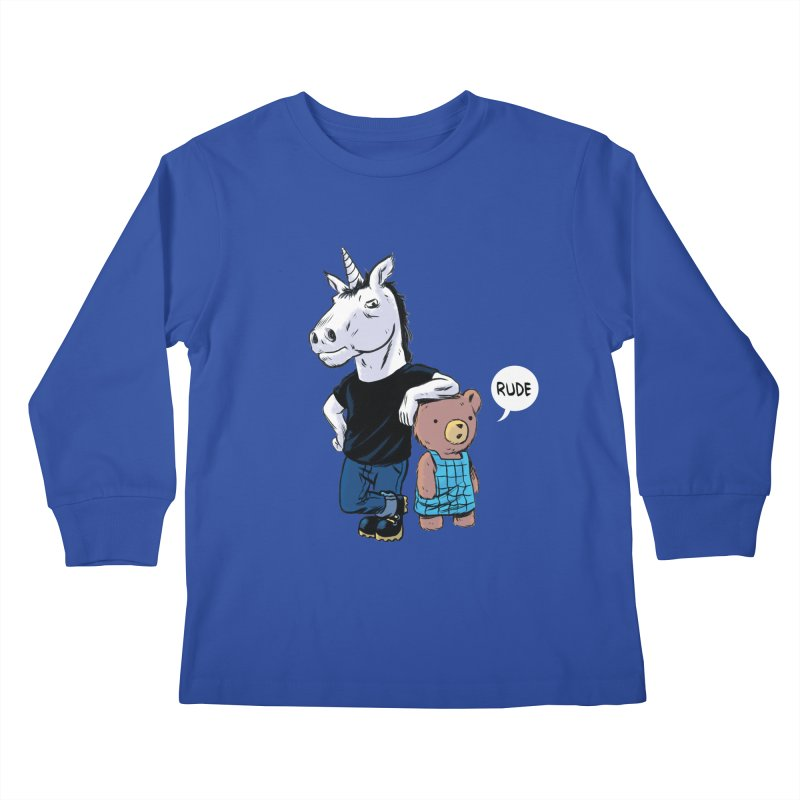 Sally and Hank Kids Longsleeve T-Shirt by The Kurdles' T-shirt Shop