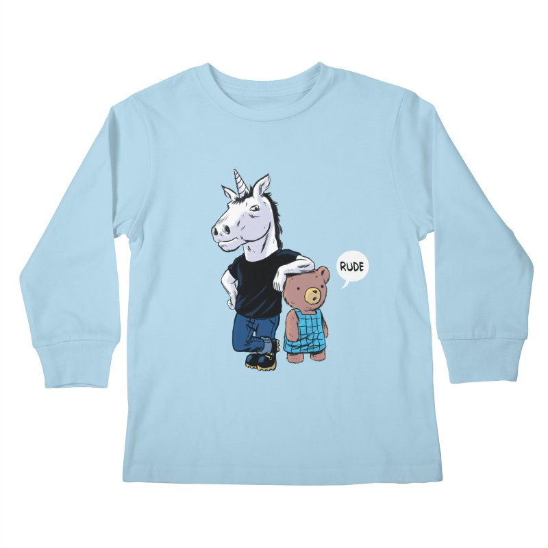 Sally and Hank Kids Longsleeve T-Shirt by The Kurdles' T-shirt Shop