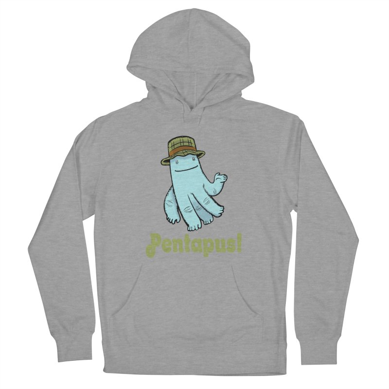 Pentapus - Blue Women's Pullover Hoody by The Kurdles' T-shirt Shop