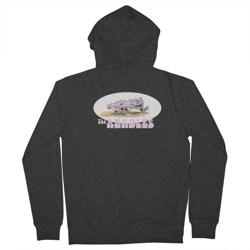 Schleb's Door Men's Zip-Up Hoody by The Kurdles' T-shirt Shop