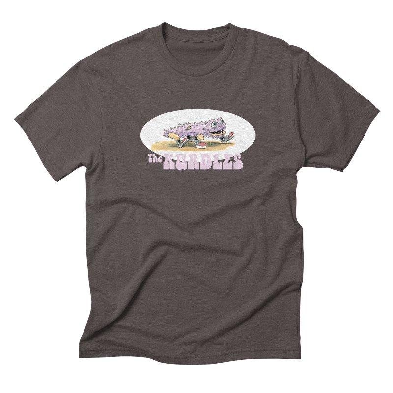 Schleb's Door Men's Triblend T-Shirt by The Kurdles' T-shirt Shop