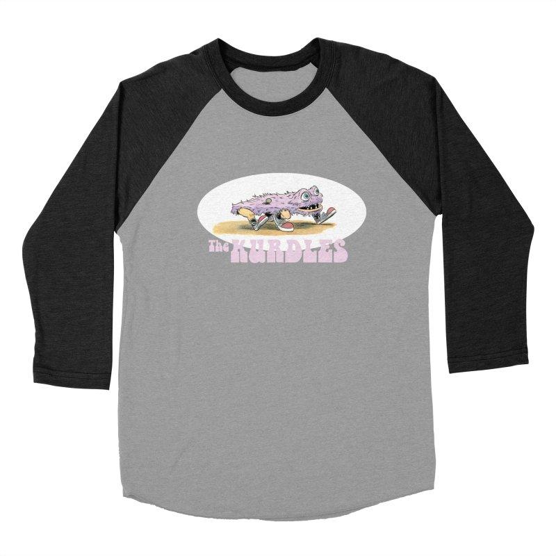 Schleb's Door Women's Baseball Triblend T-Shirt by The Kurdles' T-shirt Shop