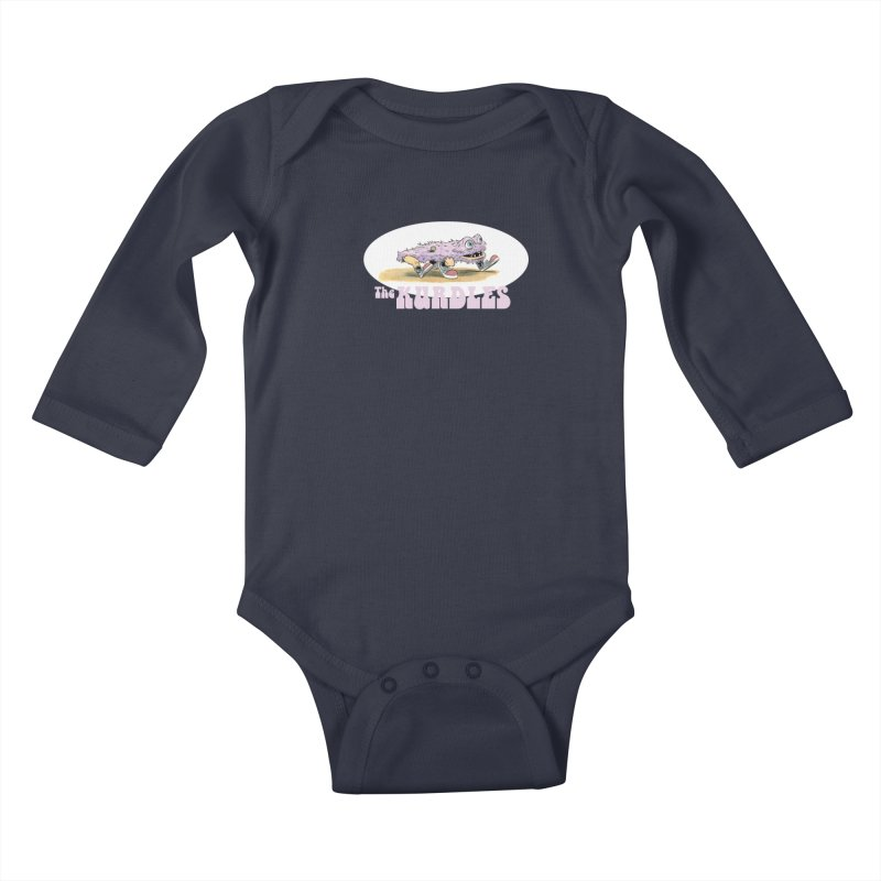 Schleb's Door Kids Baby Longsleeve Bodysuit by The Kurdles' T-shirt Shop