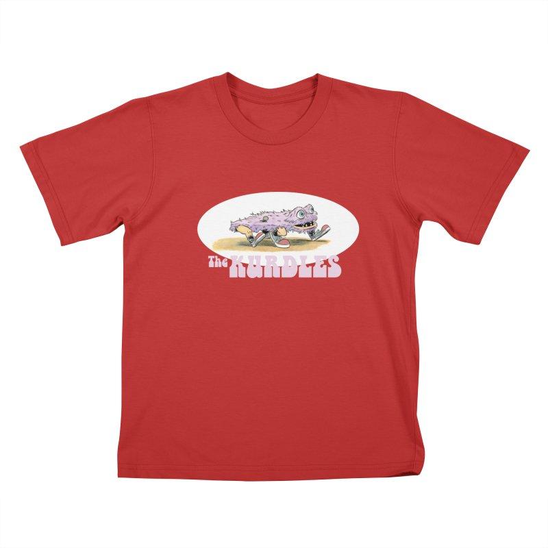 Schleb's Door Kids T-Shirt by The Kurdles' T-shirt Shop