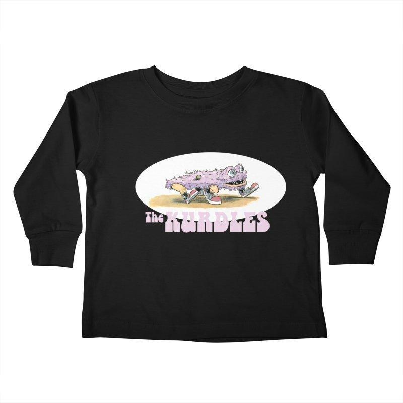 Schleb's Door Kids Toddler Longsleeve T-Shirt by The Kurdles' T-shirt Shop
