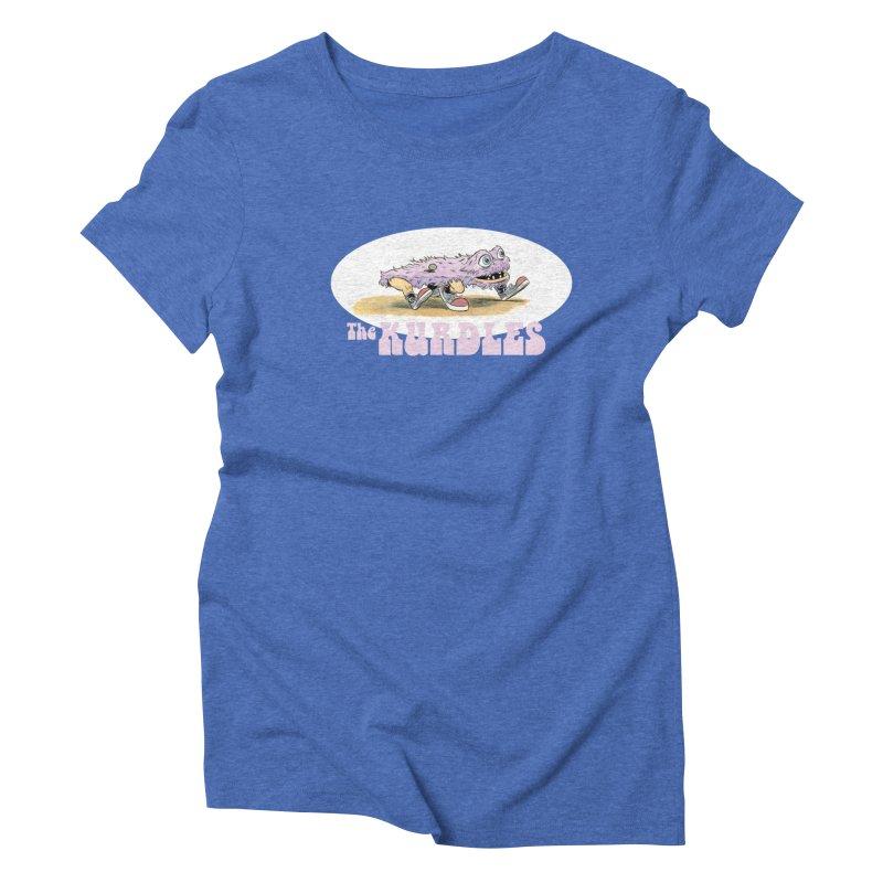 Schleb's Door Women's Triblend T-shirt by The Kurdles' T-shirt Shop
