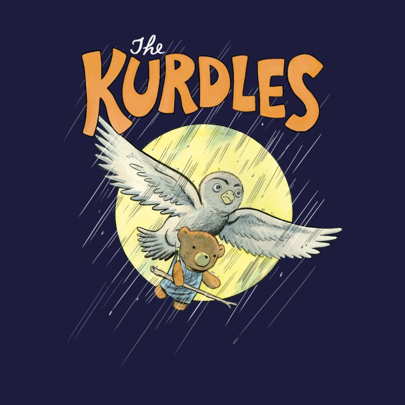 The Kurdles Men's Zip-Up Hoody by The Kurdles' T-shirt Shop