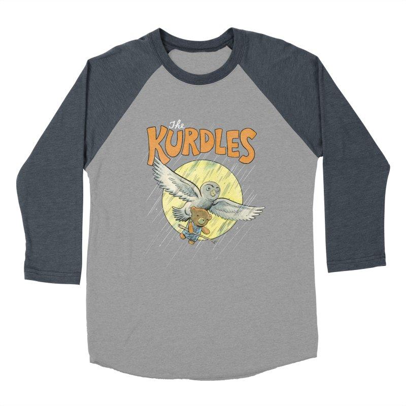 The Kurdles Women's Baseball Triblend T-Shirt by The Kurdles' T-shirt Shop