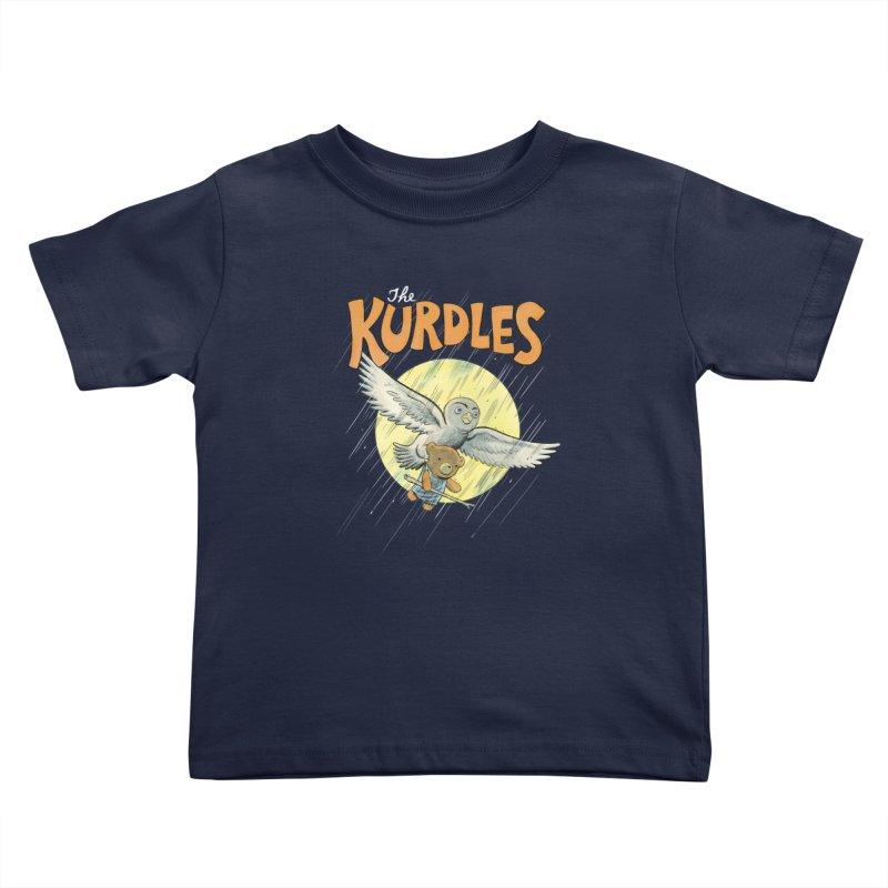 The Kurdles Kids Toddler T-Shirt by The Kurdles' T-shirt Shop