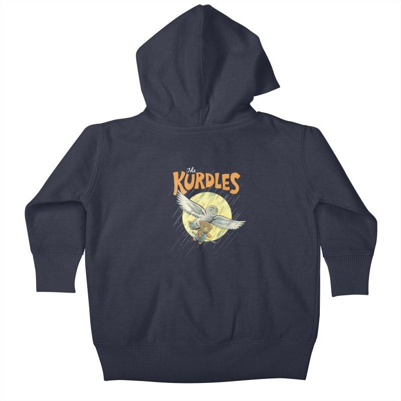 The Kurdles Kids Baby Zip-Up Hoody by The Kurdles' T-shirt Shop