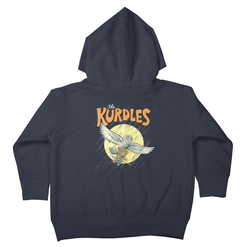 The Kurdles Kids Toddler Zip-Up Hoody by The Kurdles' T-shirt Shop