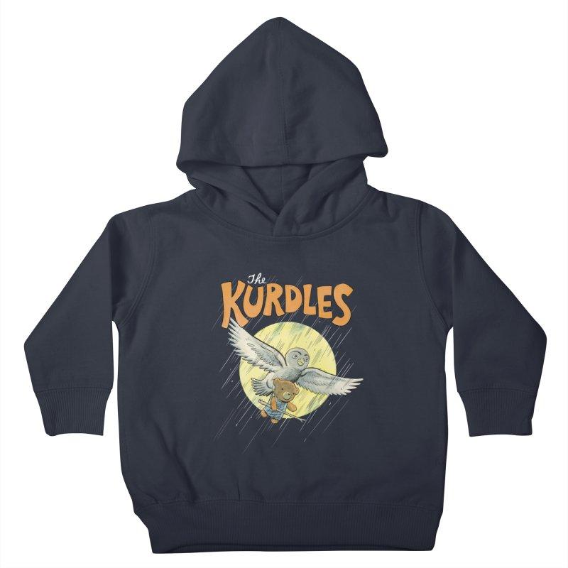 The Kurdles Kids Toddler Pullover Hoody by The Kurdles' T-shirt Shop